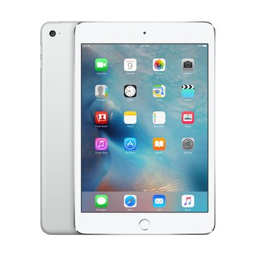 Apple iPad Mini 4, Wi-Fi, 128GB, Silver (MK9P2LL/A)