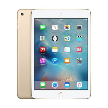 Apple iPad Mini 4, Wi-Fi, 128GB, Gold (MK9Q2LL/A)