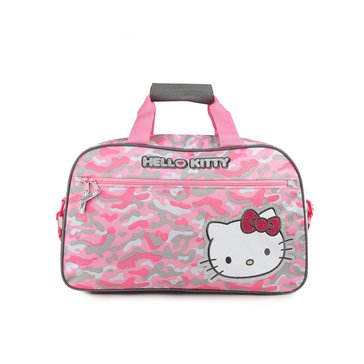 Hello Kitty Camo Overnight Bag