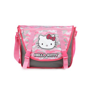 Hello Kitty Camo Messenger Bag