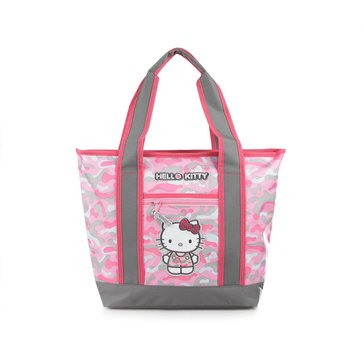 Hello Kitty Camo Kitty Shoulder Tote