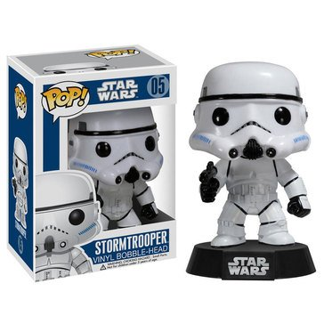 Pop! Star Wars: Star Wars - Stormtrooper Bobble Figurine