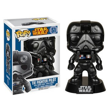Pop! Star Wars: Star Wars -Tie Fighter Pilot Bobble Figurine