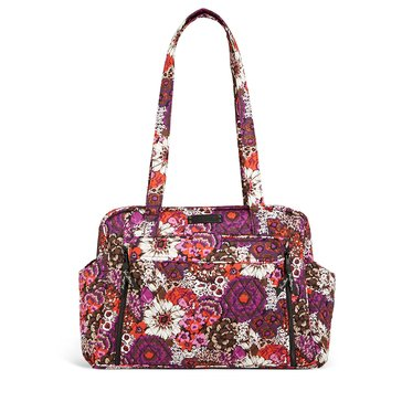 Vera Bradley Stroll Around Baby Bag - Rosewood