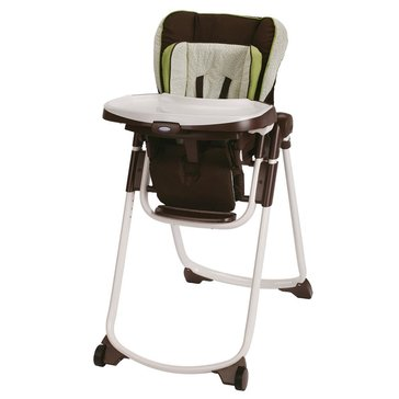 Graco Slim Spaces Highchair - Go Green