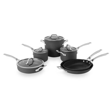 Calphalon Signature 10-Piece Nonstick Cookware Set