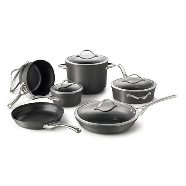 Calphalon Contemporary 11-Piece Nonstick Cookware Set