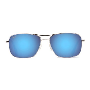 Maui Jim Unisex Polarized Wiki Wiki Blue Hawaii Sunglasses