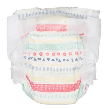 The Honest Company Diapers, Pastel Tribal Print - Size N, 40-Count
