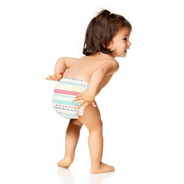 The Honest Company Diapers, Pastel Tribal Print - Size 2, 40-Count