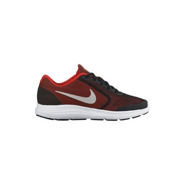 Nike Revolution 3 Boys Running Shoe Red/Black 3.5-7