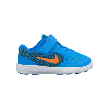Nike Revolution 3 Boys' Running Shoe -Photo Blue 2-10