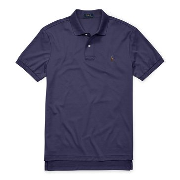 Polo Ralph Lauren Men's Big & Tall Soft Touch Pima Interlock Polo