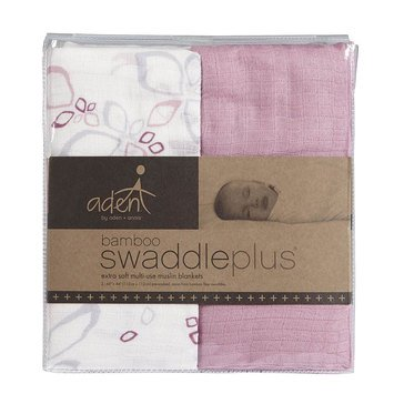 Aden + Anais Bella Silky Soft Swaddles, 2-Pack