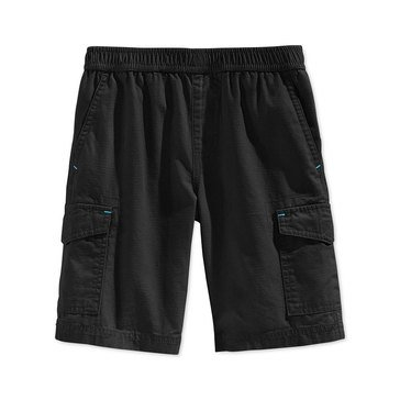 Epic Threads Little Boys' Black Ripstop Cargo Shorts, Size 2-7