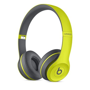 Beats Active Collection Solo 2 Wireless On-Ear Headphone - Shock Yellow