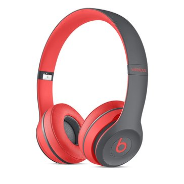 Beats Active Collection Solo 2 Wireless On-Ear Headphone - Siren Red