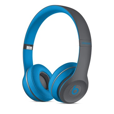 Beats Active Collection Solo 2 Wireless On-Ear Headphone - Flash Blue