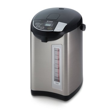 Tiger Electric Water Boiler & Warmer, 5-Liter (PDU-A50U-K)