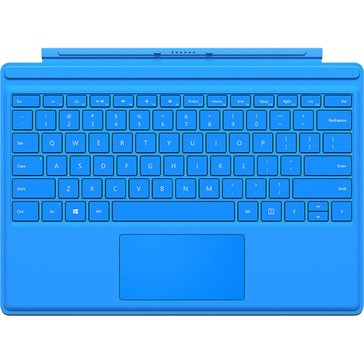 Microsoft Type Cover for Surface Pro 4, Bright Blue