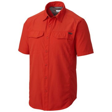 Columbia Men's Silver Ridge Solid Short Sleeve Shirt