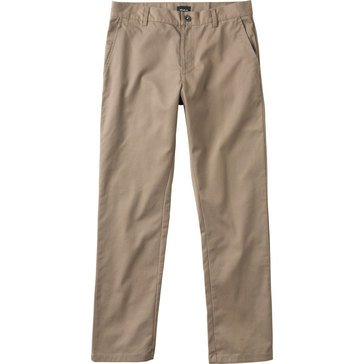 JUL RVCA THE WEEK-END STRETCH PANT KHAKI