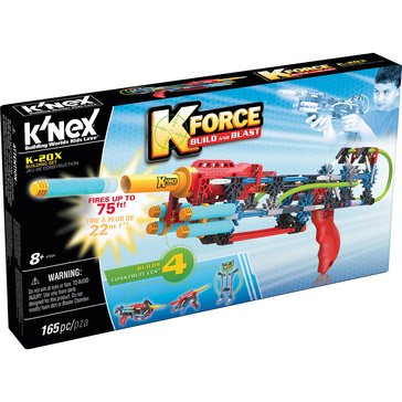 K'nex K-Force Build & Blast K-20X Building Set