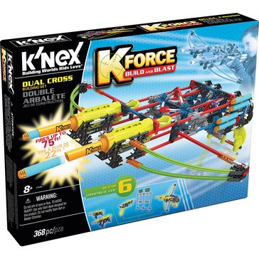 K'nex K-Force Build & Blast Dual Cross Building Set