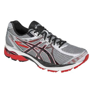 Asics Gel-Flux 3 Men's Running Shoe Silver/ Onyx/ Racing Red