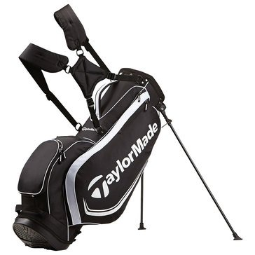 TaylorMade Custom Stand 4.0 Golf Bag - Black/White