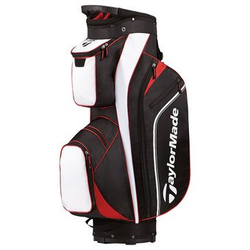 TaylorMade Pro Cart 4.0 Golf Bag - Black/White/Red