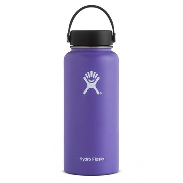 Hydro Flask 32 Oz. Wide Mouth Water Bottle - Plum