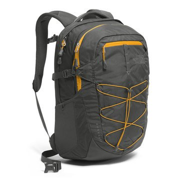 The North Face Borealis Backpack (Asphalt Grey/Citrine Yellow)
