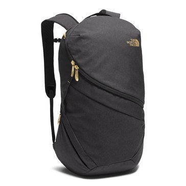 The North Face Women's Aurora Backpack (Black Heather/Gold)