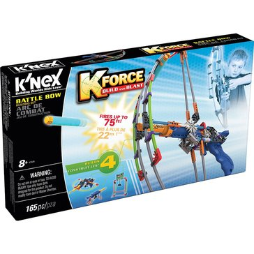 K'Nex K-Force Build & Blast Battle Bow Building Set