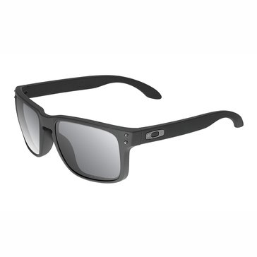 Oakley Standard Issue Men's Holbrook Polarized Sunglasses, Cerakote Black/Grey