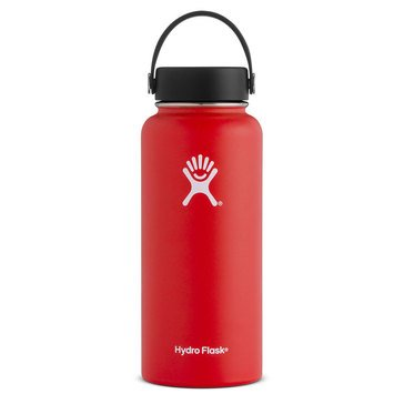 Hydro Flask 32 oz Wide Mouth with Flex Lid - Lava