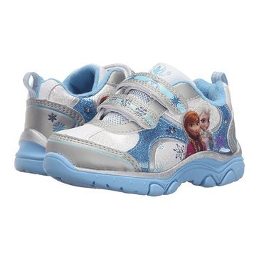 Josmo Frozen Girls' Sneaker Blue/White