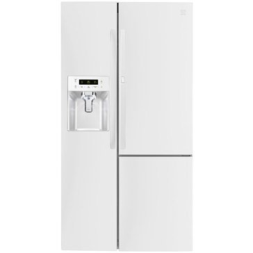 Kenmore 26.1-Cu.Ft. Side-by-Side Refrigerator w/ Grab-N-Go Door, White (46-51832)