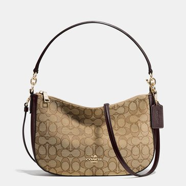 Coach Signature Chelsea Crossbody Khaki/Brown