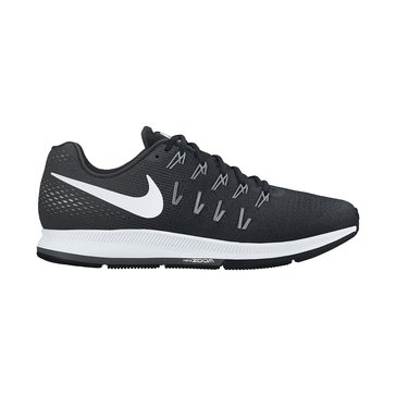 Nike Air Zoom Pegasus 33  Men's Running Shoe Black/ Anthracite/ Cool Grey/ White