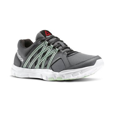 Reebok V72491 Yourflex Trainette 8.0L MT Alloy/Coal/SeafoamGreen/White_D