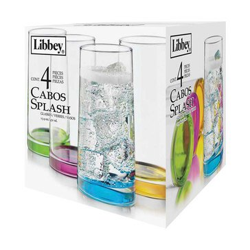 Libbey Cabos Splash Coolers, Set of 4