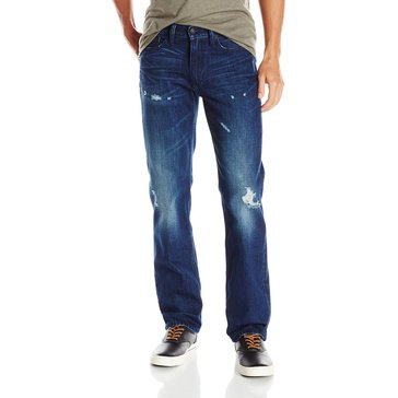 Levi's Men's 514 Slim Straight Destruct Denim Jean
