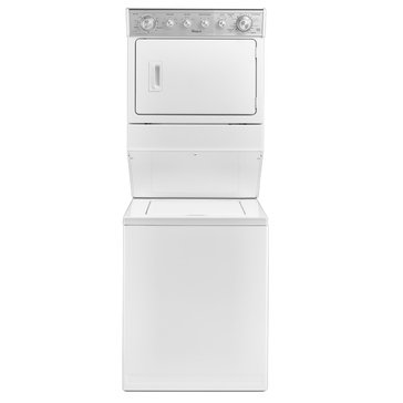Whirlpool CoCombination Washer/Gas Dryer, White (WGT4027EW)