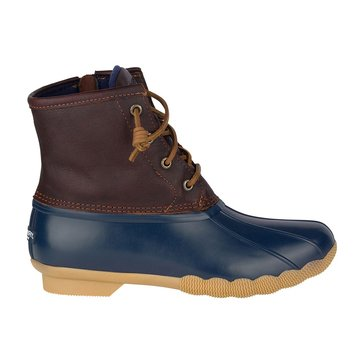 Sperry Top-Sider Saltwater Women's Rainboot Tan/Navy