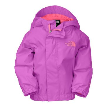 The North Face Baby Girls' Tailout Rain Jacket, Purple