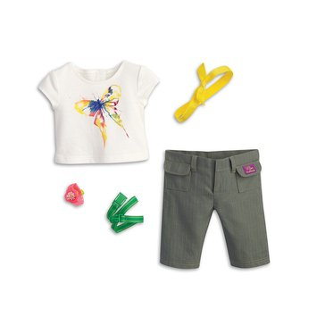 American Girl 2016 Lea's Rainforest Hike Outfit