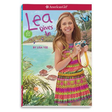 American Girl 2016 Lea Dives In Book