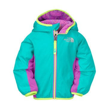 The North Face Baby Girls' Grizzly Peak Wind Jacket, Turquoise